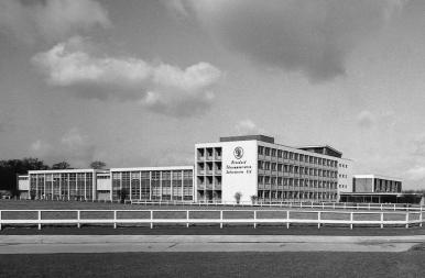 STL building in 1959
